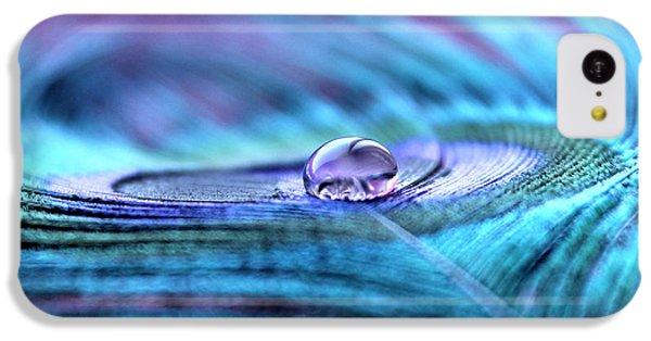 Peacock iPhone 5c Case - Liquid Bliss by Krissy Katsimbras