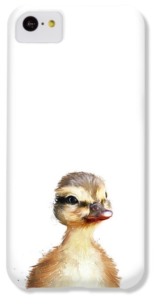 Little Duck IPhone 5c Case by Amy Hamilton