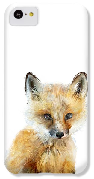 Little Fox IPhone 5c Case by Amy Hamilton