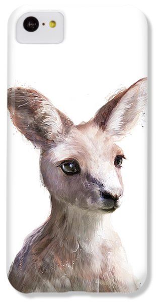 Portraits iPhone 5c Case - Little Kangaroo by Amy Hamilton