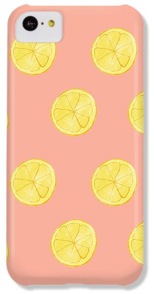 Little Lemons IPhone 5c Case by Allyson Johnson