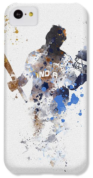 Cricket iPhone 5c Case - Little Master by Rebecca Jenkins