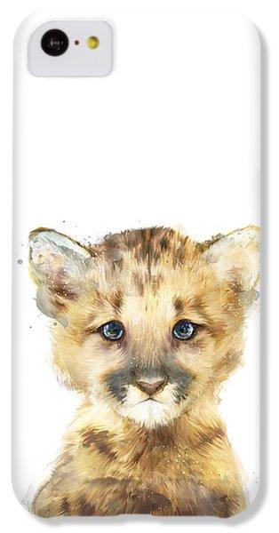 Little Mountain Lion IPhone 5c Case by Amy Hamilton