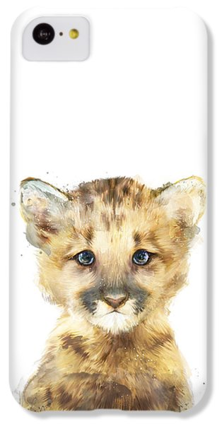 Mountain iPhone 5c Case - Little Mountain Lion by Amy Hamilton