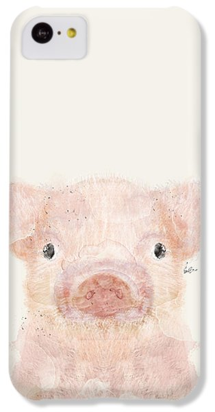 Pig iPhone 5c Case - Little Pig by Bleu Bri