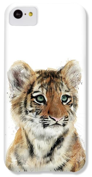 Tiger iPhone 5c Case - Little Tiger by Amy Hamilton