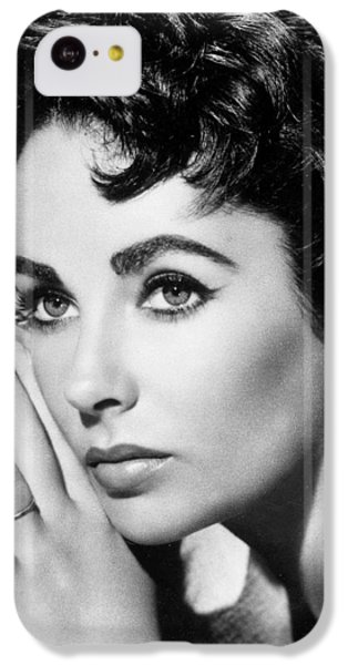 Elizabeth Taylor iPhone 5c Case - Liz Taylor by American School