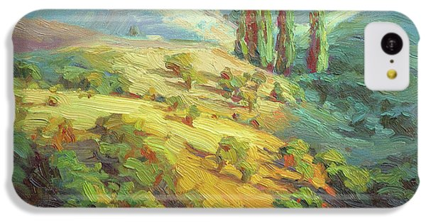Impressionism iPhone 5c Case - Lombardy Homestead by Steve Henderson