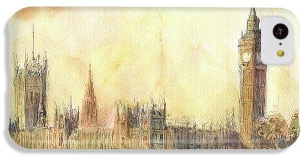 Big Ben iPhone 5c Case - London Big Ben And Thames River by Juan Bosco