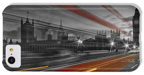 London Red Bus IPhone 5c Case by Melanie Viola