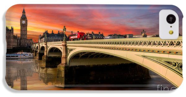 London iPhone 5c Case - London Sunset by Adrian Evans