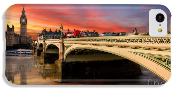London Sunset IPhone 5c Case by Adrian Evans