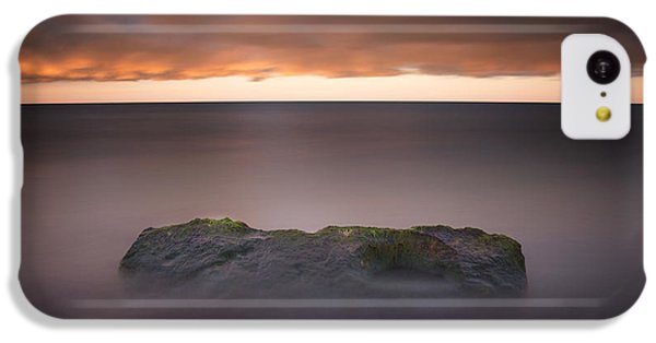 IPhone 5c Case featuring the photograph Lone Stone At Sunrise by Adam Romanowicz
