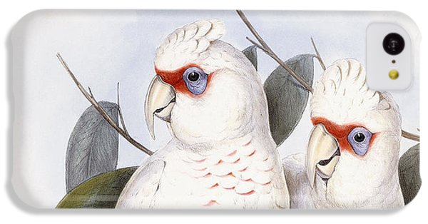 Long-billed Cockatoo IPhone 5c Case by John Gould