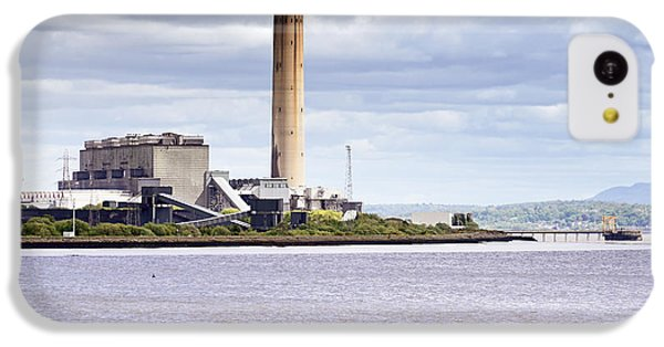 IPhone 5c Case featuring the photograph Longannet Power Station by Jeremy Lavender Photography