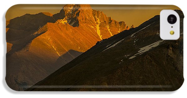 Long's Peak IPhone 5c Case by Gary Lengyel