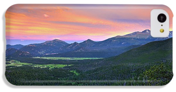 Longs Peak Sunset IPhone 5c Case by David Chandler