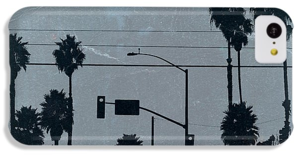 Los Angeles IPhone 5c Case by Naxart Studio