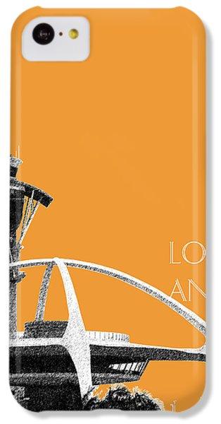 Los Angeles Skyline Lax Spider - Orange IPhone 5c Case