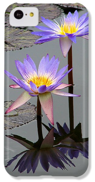Floral iPhone 5c Case - Lotus Reflection 4 by David Dunham
