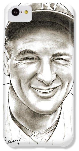 Lou Gehrig IPhone 5c Case
