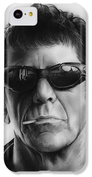 London Tube iPhone 5c Case - Lou Reed by Greg Joens