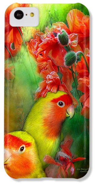 Love Among The Poppies IPhone 5c Case