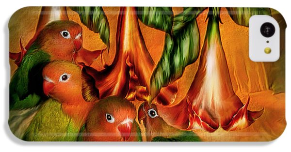 Love Among The Trumpets IPhone 5c Case by Carol Cavalaris