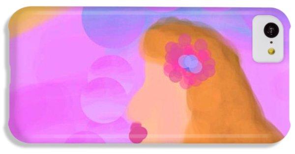 The Art Of Gandy iPhone 5c Case - Love Bubbles by Joan Ellen Gandy