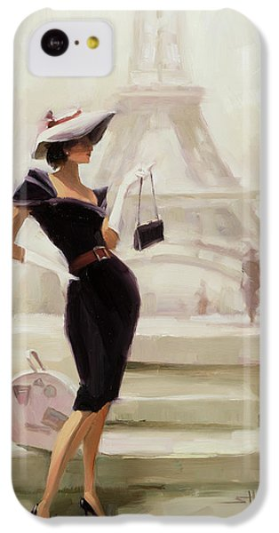 Figurative iPhone 5c Case - Love, From Paris by Steve Henderson
