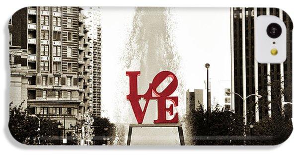 Love In Philadelphia IPhone 5c Case