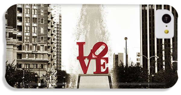 Love In Philadelphia IPhone 5c Case by Bill Cannon
