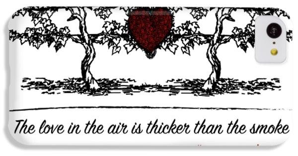 Love In The Air IPhone 5c Case