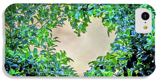 Featured Images iPhone 5c Case - Love Leaves by Az Jackson