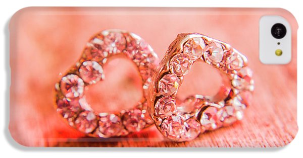 IPhone 5c Case featuring the photograph Love Of Crystals by Jorgo Photography - Wall Art Gallery