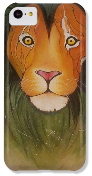 Lovelylion IPhone 5c Case by Anne Sue