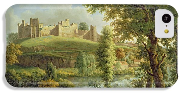 Ludlow Castle With Dinham Weir IPhone 5c Case by Samuel Scott