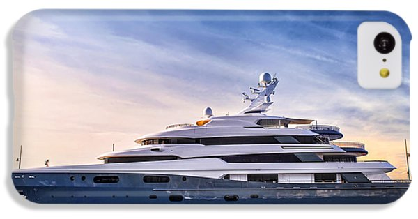 Boat iPhone 5c Case - Luxury Yacht by Elena Elisseeva