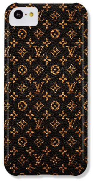 Time iPhone 5c Case - Lv Pattern by Janis Marika