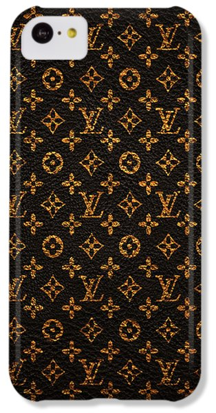 Doctor iPhone 5c Case - Lv Pattern by Janis Marika