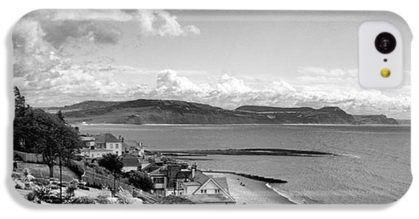 Sky iPhone 5c Case - Lyme Regis And Lyme Bay, Dorset by John Edwards