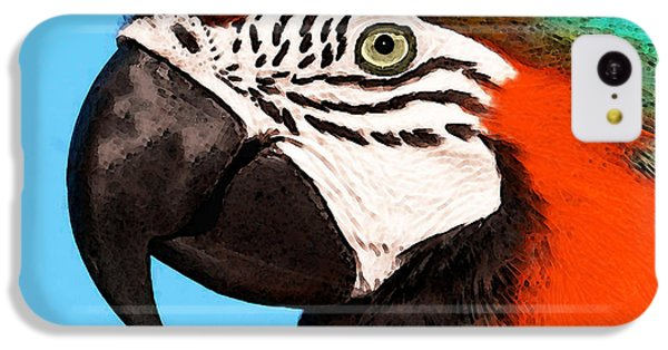 Macaw Bird - Rain Forest Royalty IPhone 5c Case