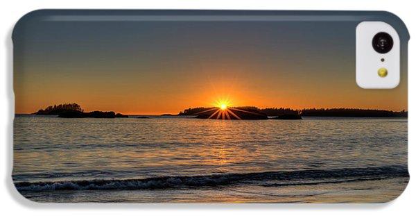 Mackinsie Beach Sun Burst IPhone 5c Case