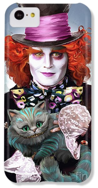 Mad Hatter And Cheshire Cat IPhone 5c Case