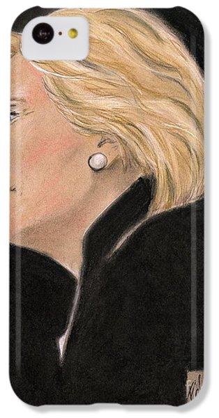 Hillary Clinton iPhone 5c Case - Madame President by PJ Lewis