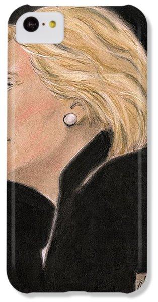 Madame President IPhone 5c Case by P J Lewis