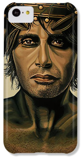 Doctor iPhone 5c Case - Mads Mikkelsen Painting by Paul Meijering