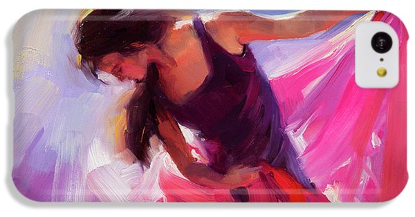 T Shirts iPhone 5c Case - Magenta by Steve Henderson