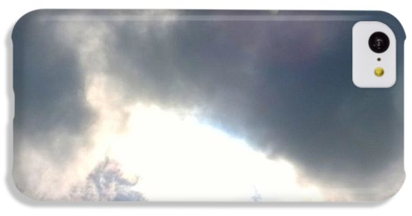 Sky iPhone 5c Case - Magical #clouds Today :-) #sky #weather by Shari Warren