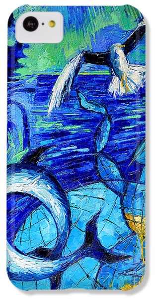 Majestic Bleu IPhone 5c Case by Mona Edulesco